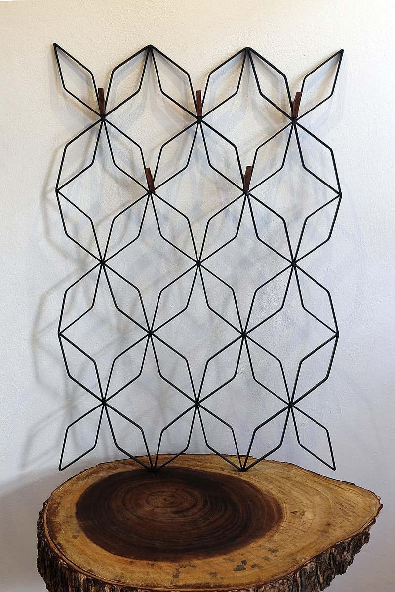 wall mounted organizer or handmade wall decor
